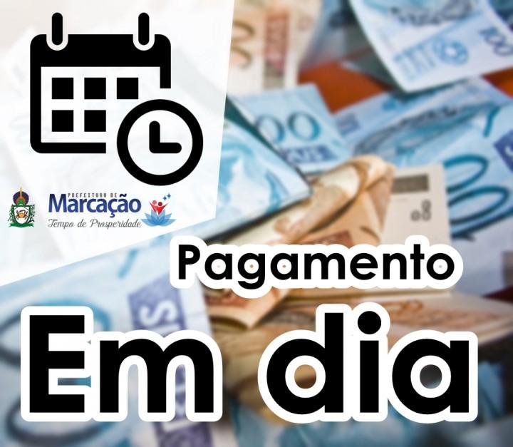 PREFEITURA REALIZA PAGAMENTO DE TODOS OS FUNCIONÁRIOS NESTA TERÇA 31.