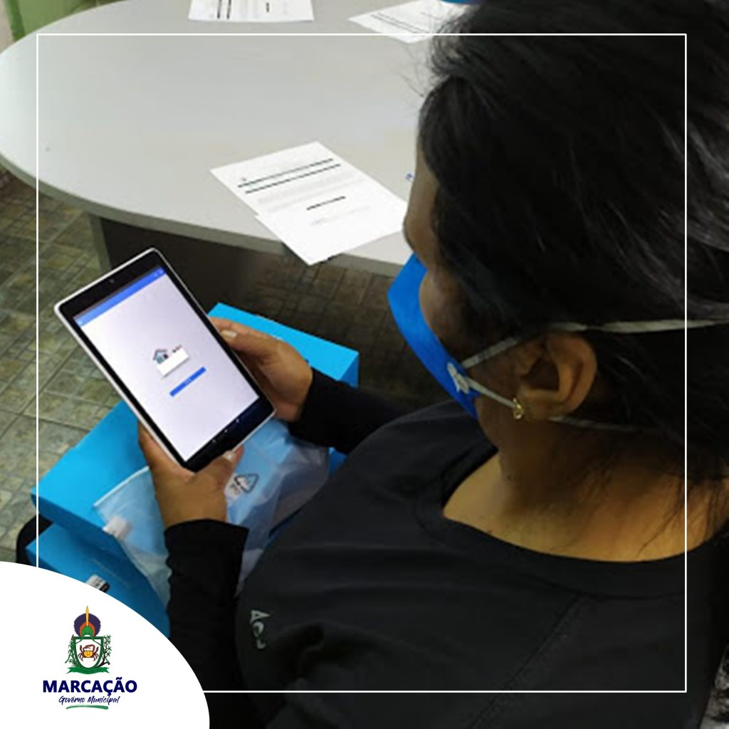 Secretaria de Saúde Realiza entrega de Tablets para Agentes de Saúde nesta quinta(14).
