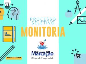 Processo Seletivo  do Programa Educacional de Monitoria